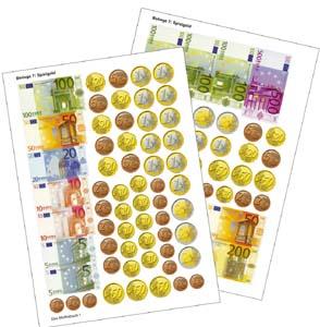 Euro Spielgeld 5401870 Mathematik Klasse 1 Bis 6 Geldsätze