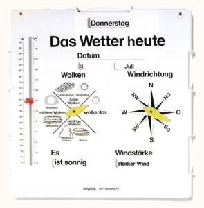 wetterbeobachtungstafel 5306340 sachkunde wetter me ger te. Black Bedroom Furniture Sets. Home Design Ideas