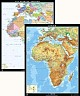 Afrika - physisch / politisch