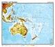 Australien und Ozeanien - physisch