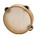 Tamburin mit Naturfell und Schellen