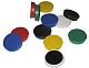 Haftmagnet mit Colorkappe farbig gemischt