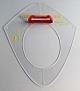 Hyperbelschablone - 50 cm