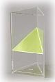 3-seitiges Prisma mit Schrägschnitt
