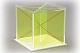 Würfel mit entnehmbaren Diagonalschnitten