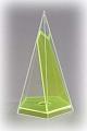 5-seitige Pyramide mit beweglichem Schnitt