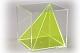 Würfel mit schräger Innenpyramide
