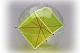 Kugel mit Innenhexaeder + Diagonalfäden