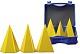 3-teiliger Satz regelmäßiger Pyramiden