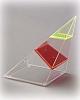 4-seitige Pyramide, schräg gestellt