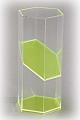 6-seitiges Prisma mit Schrägschnitt