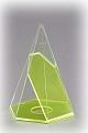 6-seitige Pyramide mit beweglichem Schnitt