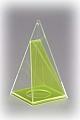 Quadratpyramide mit beweglichem Schnitt