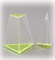 3-seitige Pyramide mit abnehmbarer Spitze