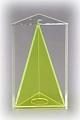 3-seitiges Prisma