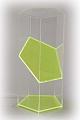 5-seitiges Prisma mit Schrägschnitt