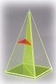 Vierseitige Pyramide mit