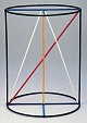 Kantenmodell Zylinder (farbig)