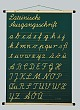 Schrifttafel - Lateinische Ausgangsschrift