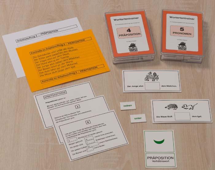 Lernkartei - Wortartentrainer 4-5