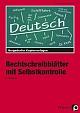 Bergedorfer Kopiervorlagen - Rechtschreibblätter mit Selbstkontrolle
