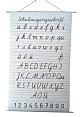 Schrifttafel - Schulausgangsschrift (SAS)