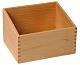 Sortierbox für Sandpapier Buchstaben