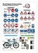 Lehrtafel - Die wichtigsten Verkehrszeichen
