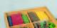 Farbiger Streusand für Sandkasten