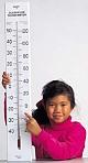 Riesiges Klassenzimmer-Thermometer