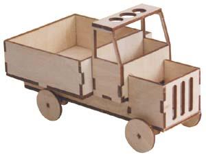 Holzauto Schreibtischbutler