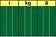 Stellenwerttafel Gewichte t-kg-g