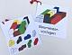 Baumeisterspiel farbige Vorlagen