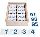 Ziffernplättchen magnetisch 1-100