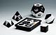 Clixi-Box 1 schwarz / weiß