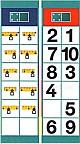 Flocards Set M 2  - Mathematik 1. Schuljahr