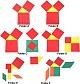 Sammlung Flächensätze am Dreieck