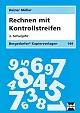 Bergedorfer Kopiervorlagen - Rechnen mit Kontrollstreifen