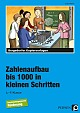 Bergedorfer Kopiervorlagen - Zahlenaufbau bis 1000 in kleinen Schritten