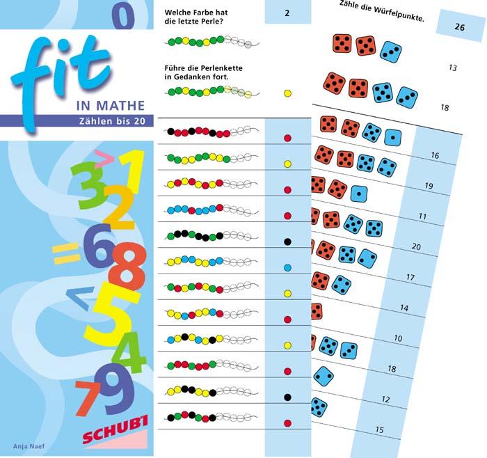 Fit in Mathe - Zählen bis 20