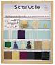 Schaukasten - Schafwolle