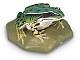 Wasserfrosch weiblich - Tierplastik
