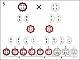 Lehrtafel - Schema einer dihybriden Kreuzung