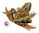 Springfrosch - Tierplastik