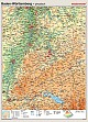 Baden-Württemberg - physisch / politisch