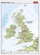Britische Inseln - physisch / politisch
