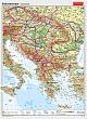 Südosteuropa - physisch / politisch