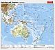 Australien und Ozeanien - physisch / politisch