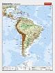 Südamerika - physisch / politisch