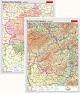 Rheinland-Pfalz/Saarland - physisch / politisch